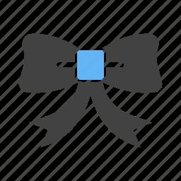 christmas, decoration, gift, party, ribbon, strip, xmas icon