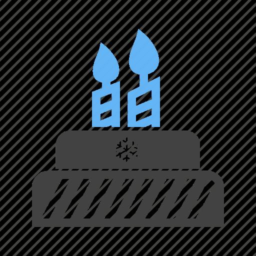 birthday, cake, christmas, merry christmas, party, sweet, xmas icon