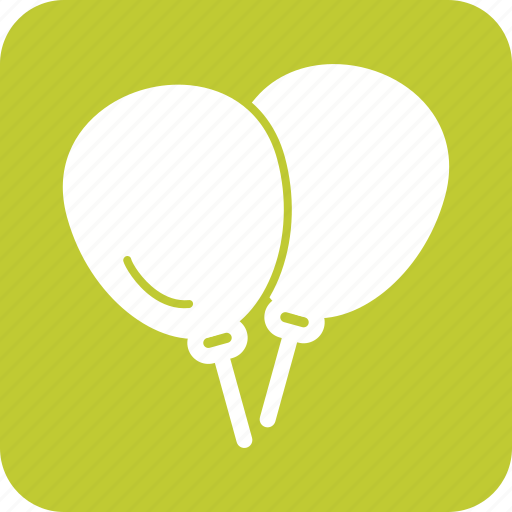 balloon, balloons, birthday, celebration, decoration, fun, party icon