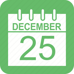 agenda, calendar, christmas, date, day, event, schedule icon
