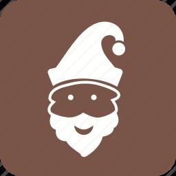 bonnet, cracker, elf, net, santa, xmas icon