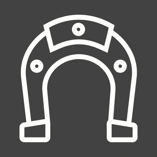 Horse equipment, horse shoe, magnet, shoe, studs icon - Download on Iconfinder