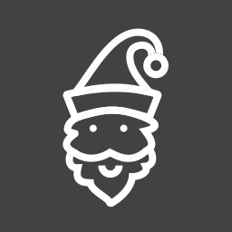 cap, christmas, elf, santa, santa claus icon