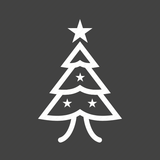 Christmas, christmas tree, decoration, new year, snow, winter, xmas icon - Download on Iconfinder