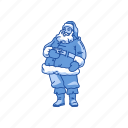 christmas, claus, santa, santa claus icon
