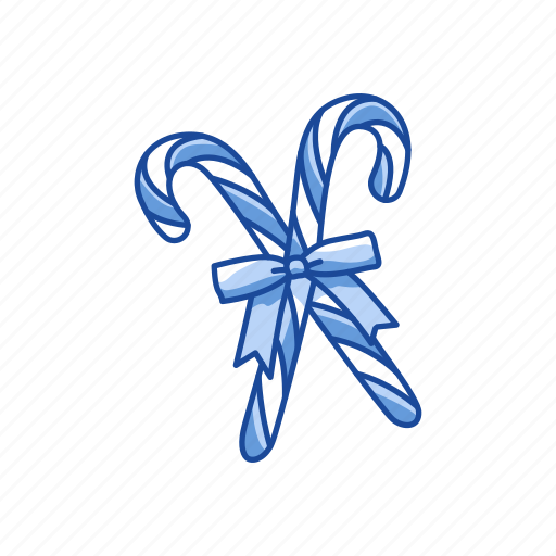 candy, candy cane, cane, sweets icon