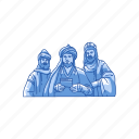 biblical magi, christmas, kings, three kings icon
