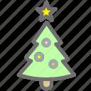 christmas, decoration, gift, new year, tree, xmas