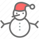 christmas, claus, santa, snow, snowman, xmas icon