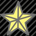 award, favorite, prize, rating, reward, star
