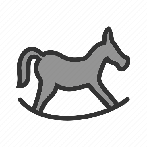 christmas, play, rider, rocking horse, swing, toy, xmas icon