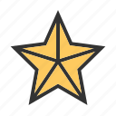 achievement, bookmark, christmas star, favorite, prize, star, winner
