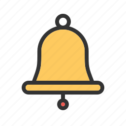 alert, attention, bell, christmas bell, jingle bell, notify, ring icon