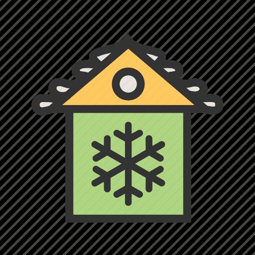 christmas house, decoration, house, party, xmas icon