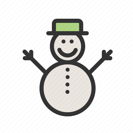 christmas, december, ice, snow, snow man, winter, xmas icon