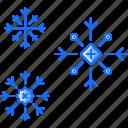 christmas, new, snow, snowflake, snowflakes, winter, year icon