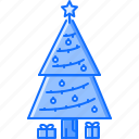 christmas, fir, holiday, new, tree, winter, year icon