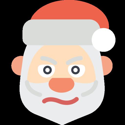 christmas, cross, father christmas, santa, xmas icon