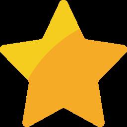 christmas, star, xmas icon