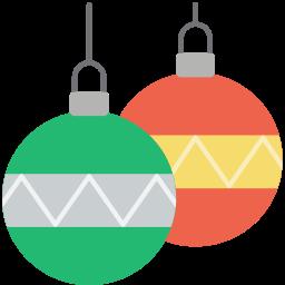 baubles, christmas, xmas icon