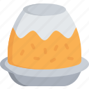christmas, december, food, holidays, pudding icon