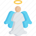 angel, christmas, december, holidays, tree icon