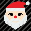 christmas, claus, present, santa icon