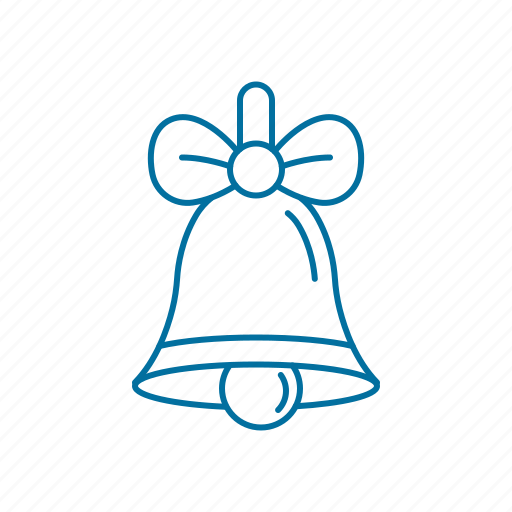 bell, christmas, decoration, holidays, winter icon icon
