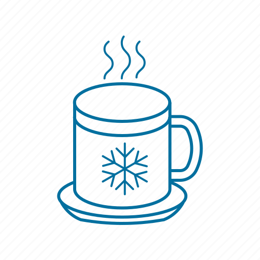 christmas, cup, drink, hot, hot coffee, winter icon