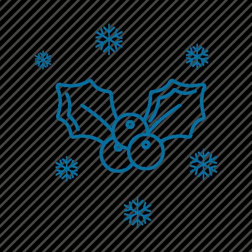 celebration, christmas, decoration, holiday, holidays, mistletoe icon icon