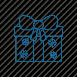 box, christmas, gift, holiday, holidays, present icon