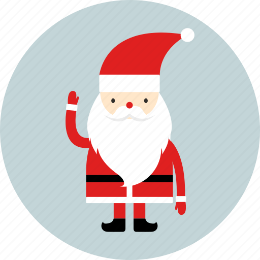 christmas, father christmas, gift, new year, party, santa claus, x-mas icon