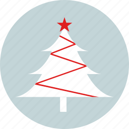 christmas, christmas tree, new year, party, pine tree, star, x-mas icon