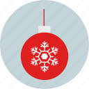 boll, christmas, decoration, new year, party, winter, x-mas icon