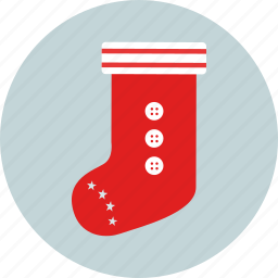 christmas, gift, new year, party, present, sock, x-mas icon