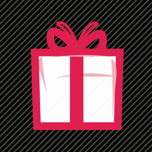 birthday, box, christmas, gift, present, shopping, xmas icon