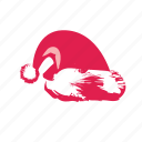 cap, christmas, claus, hat, santa, winter, xmas icon