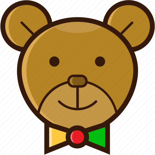 bear, christmas character, christmas icon, decoration, ornament icon