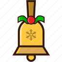 bell, celebration, christmas icon, decoration, ornaments