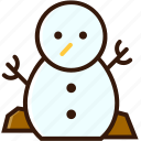 decoration, ornament, snowman, winter, xmas character, xmas icon icon