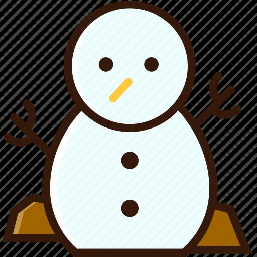 decoration, ornament, snowman, winter, xmas character, xmas icon icon