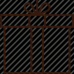 christmas icon, gift, prize, santa gift icon