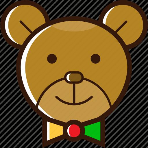bear, christmas character, christmas icon, decoration, ornament icon