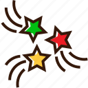 celebrate, celebration, fireworks, goodwork, holidays icon