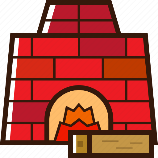 christmas icon, fire place with wood, fireplace, warm, xmas icon icon