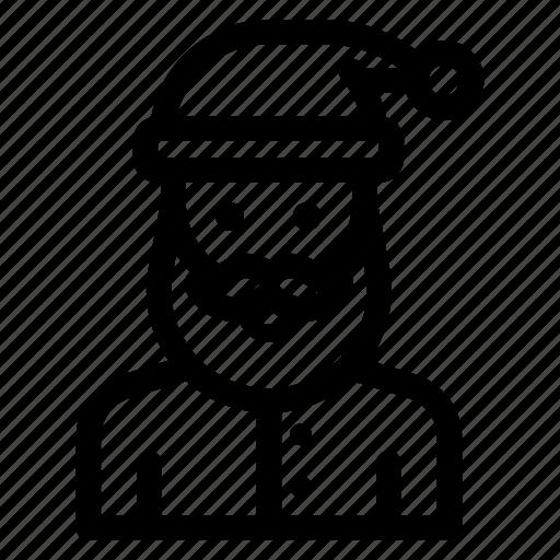 Christmas, claus, father, santa, xmas icon - Download on Iconfinder