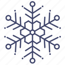 snow, snowflake, freeze