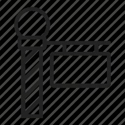 north, pole, sign icon