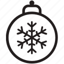 ball, christmas, ornament, ornament ball, tree, tree decor, xmas icon