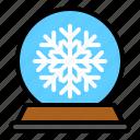 decoration, snow globe, snowstorm, waterglobe, xmas